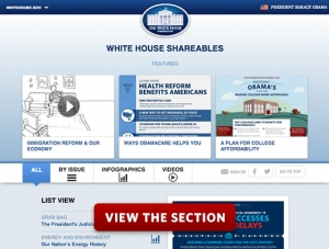 Introducing White House Shareables