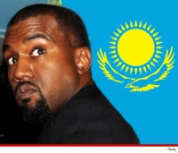 Kanye West -- Paid Millions to Perform in Borat Land